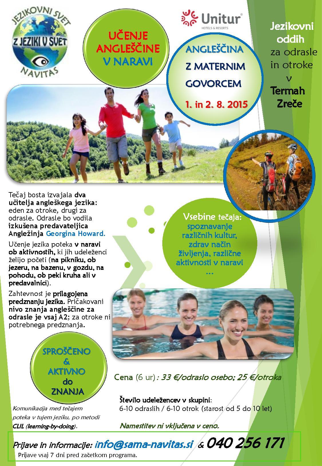 Jezikovni oddih-V NARAVI-ZREČE-ROGLA-2015_SLO_1-8-2-8-2015-novo-maj2015